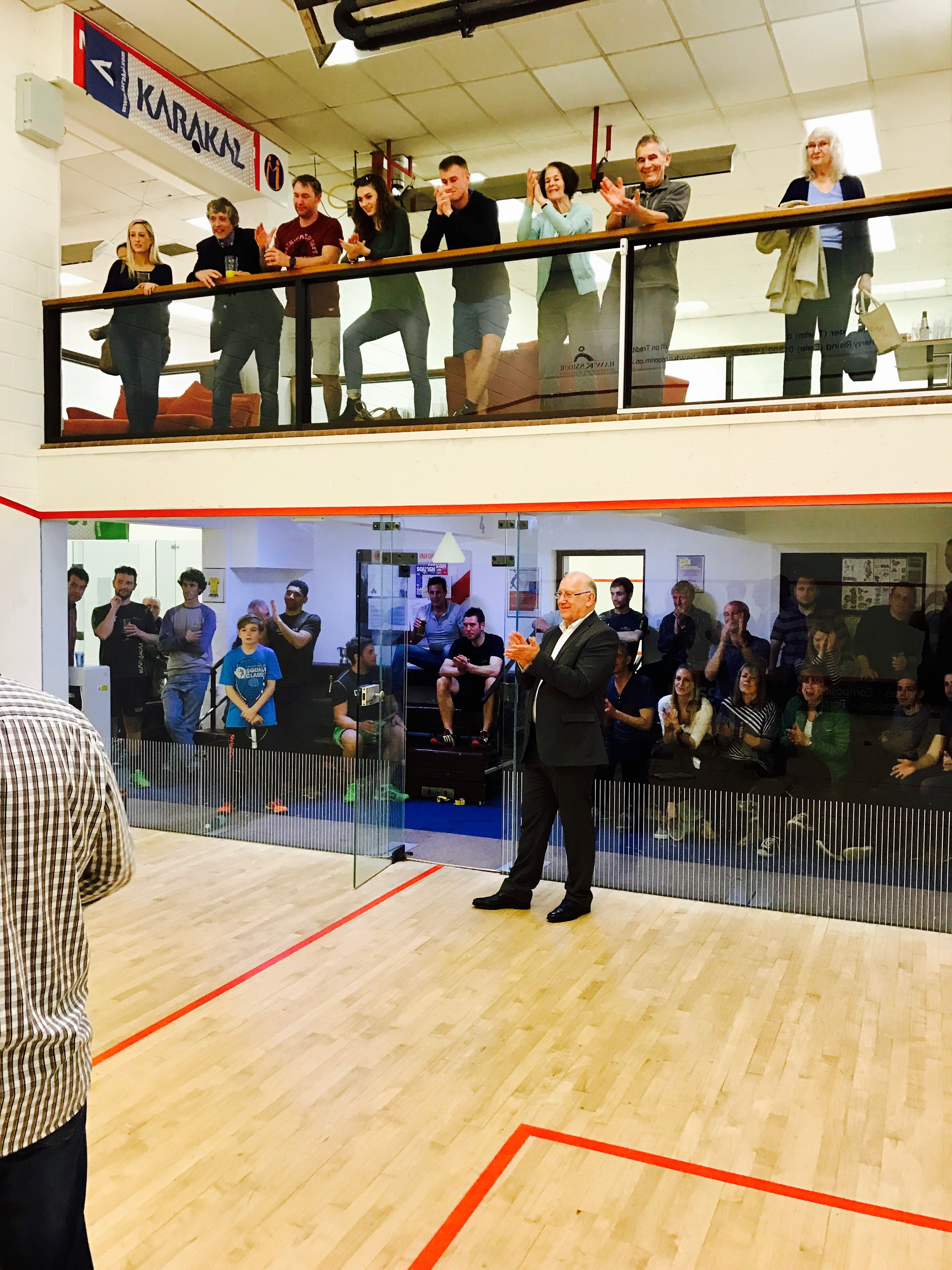 Squash double win for Exeter Golf and Country Club
