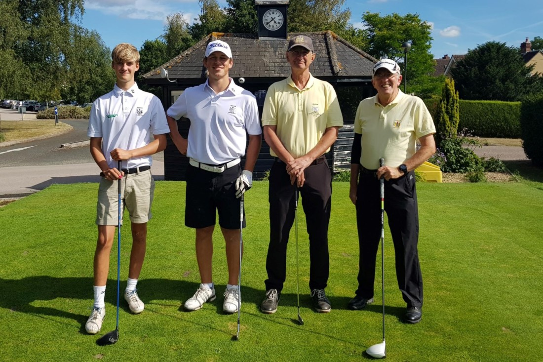 Juniors v Seniors Golf Tournament Exeter Golf and Country Club