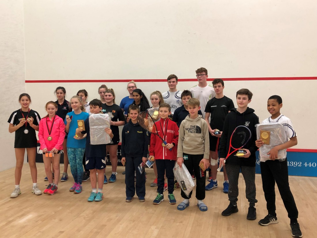 england squash, junior squash, exeter golf and country club, devon squash, exeter squash, childrens squash