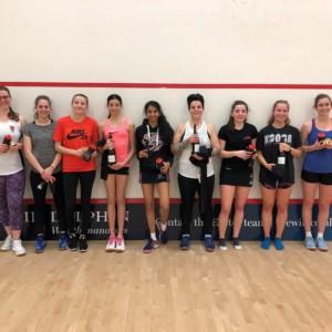 squash exeter, devon squash, squash, exeter golf and country club, ladies squash