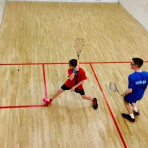 junior squash, exeter golf and country club