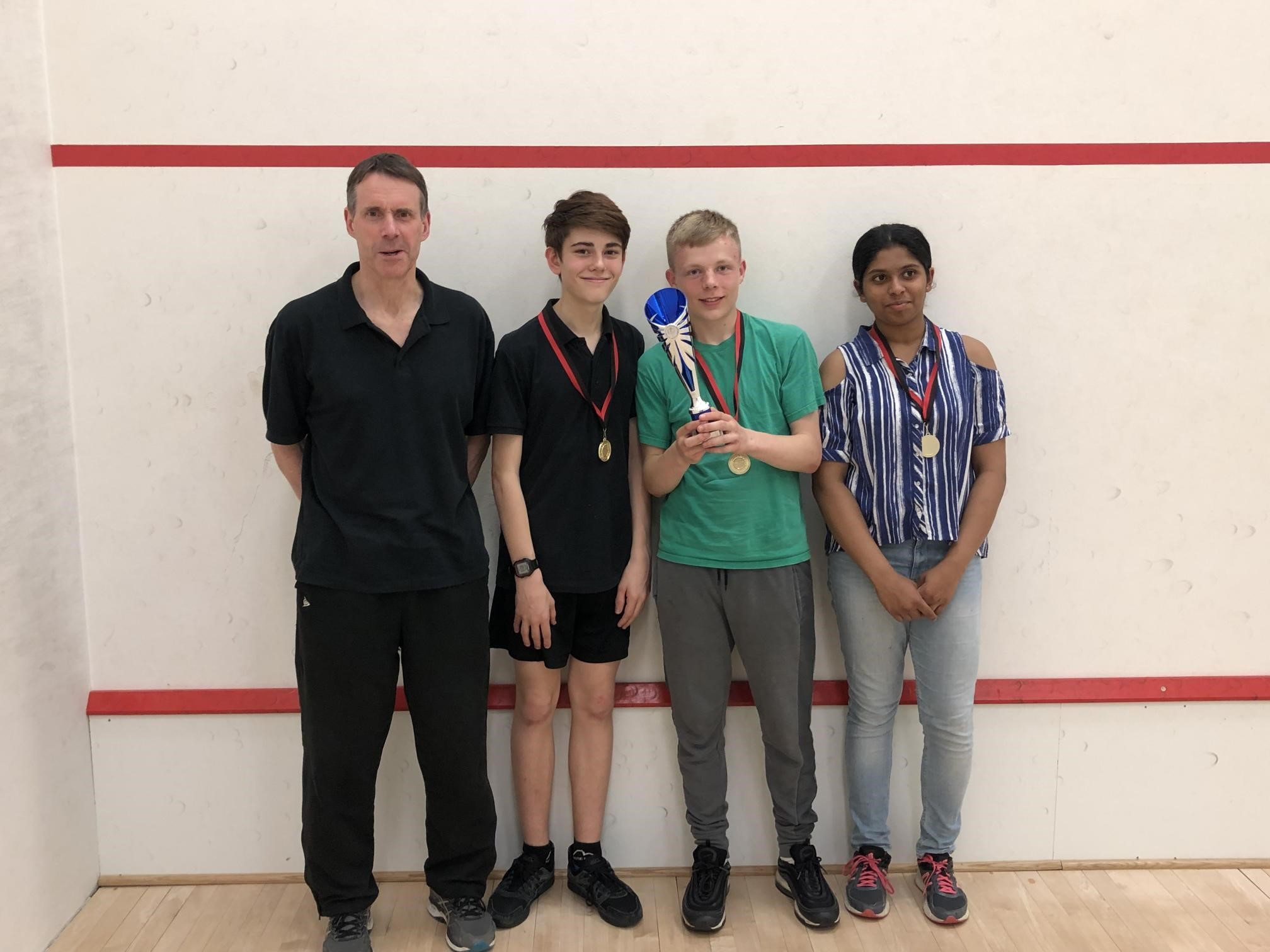 squash, exeter golf and country club, junior squash