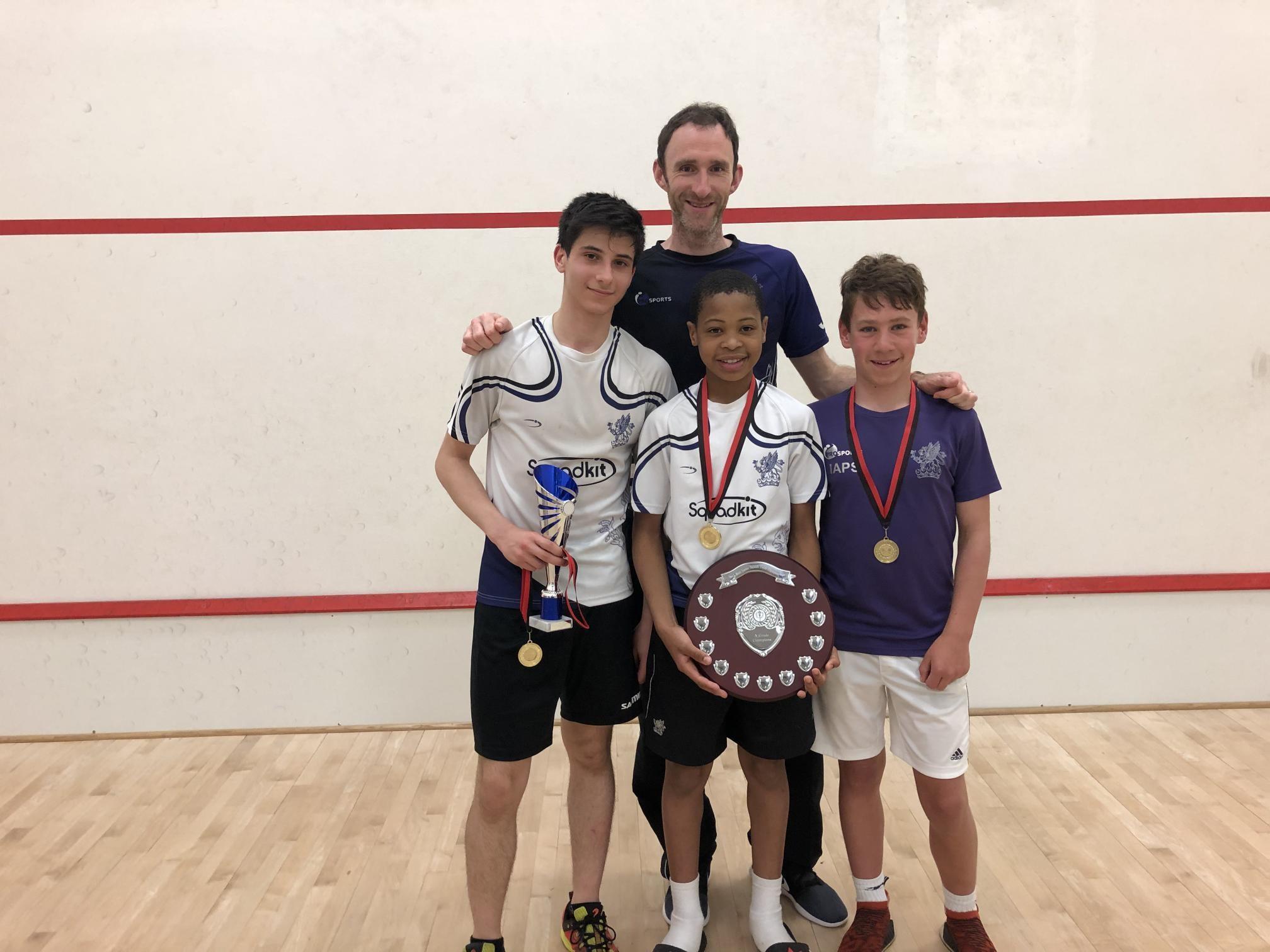 Exeter golf and country club, squash, junior squash, south west squash