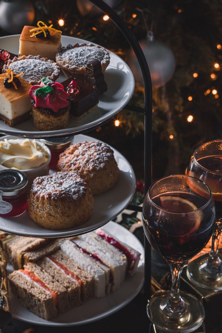 afternoon tea, festive afternoon tea, afternoon tea exeter, best afternoon tea, christmas afternoon tea, exeter golf and country club, wear park restaurant