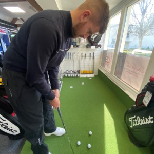 golf coaching, golf practise at home, golf at home, golf techniques for the home, exeter golf and country club