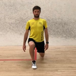 squash lunge, squash techniques, squash tips, squash coaching, mike harris squash, exeter golf and country club