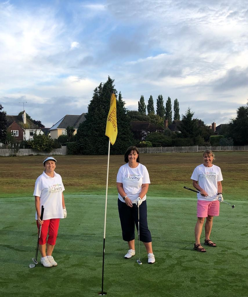 ladies golf, womens golf, rainbow living, exeter golf