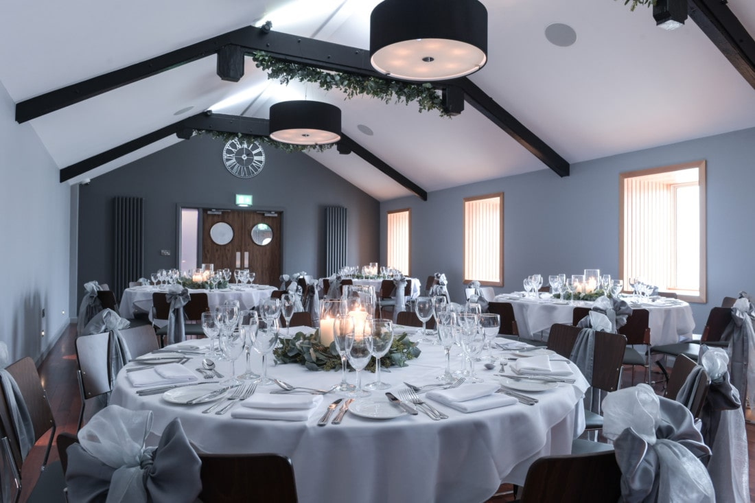 Function room at Exeter wedding venue in Devon