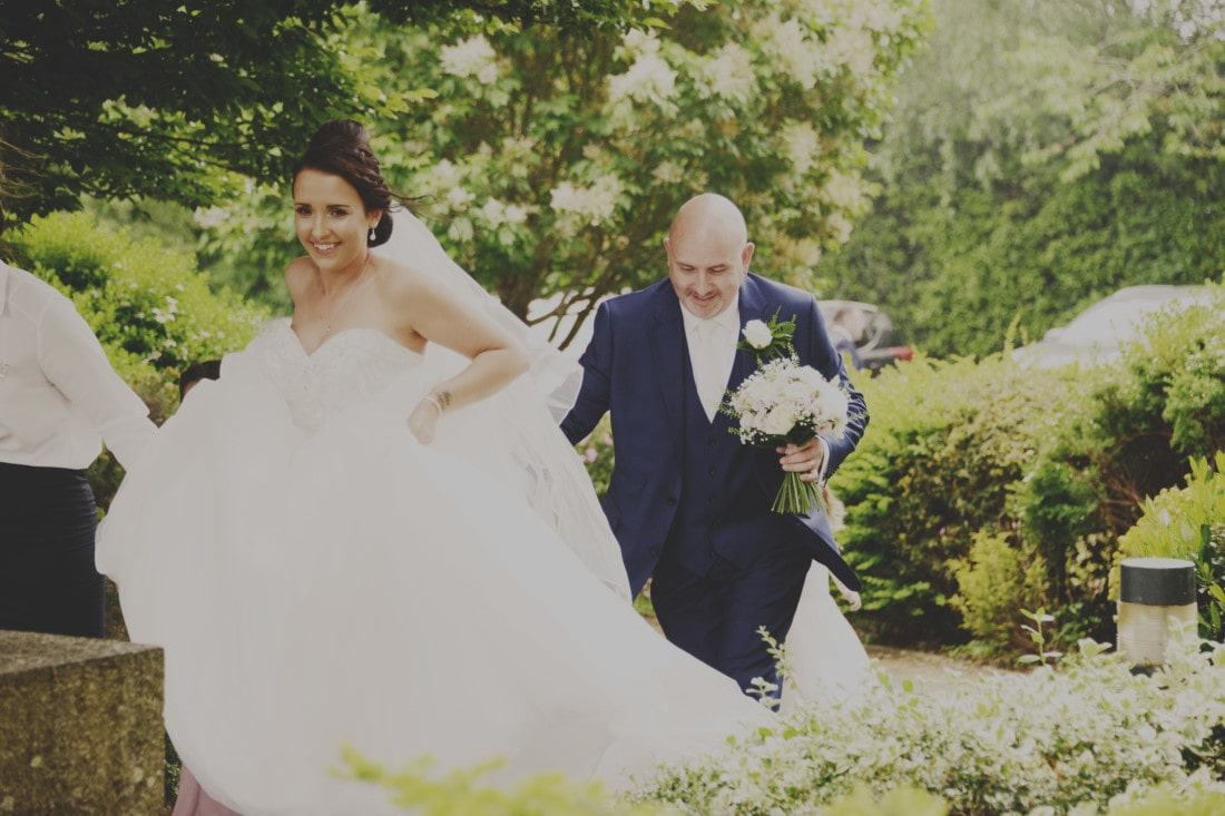 Bride and Groom at beautiful Exeter wedding venue