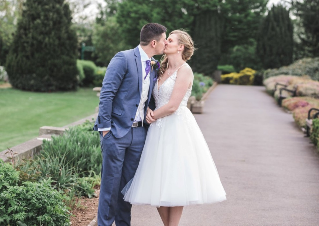 couple getting married at Exeter wedding venue