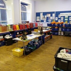 exeter foodbank, foodbank, exeter golf and country club